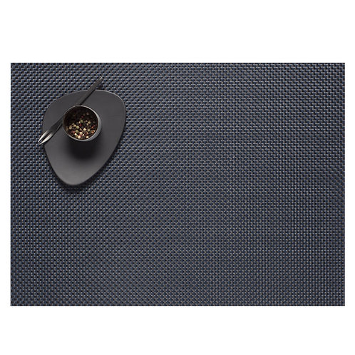"Chilewich ""Basketweave"" Placemat in Navy"
