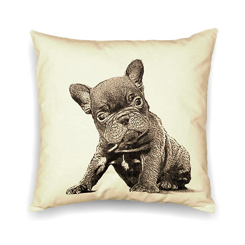 """""""Frenchie"""" Pillow"""