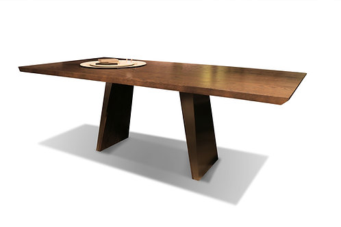 Timeless Dining Table - Rectangle with Wood Top