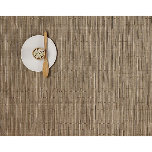 """Chilewich """"Bamboo"""" Placemat in Camel"""