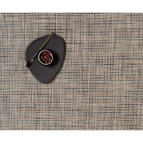 """Chilewich """"Basketweave"""" Placemat in Bark"""