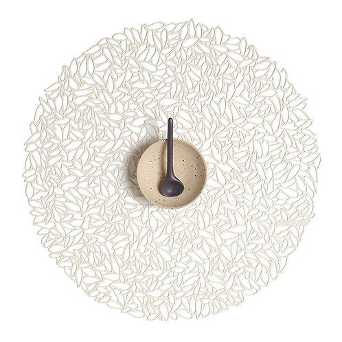 """Chilewich """"Petal"""" Pattern Placemat - Porcelain"""
