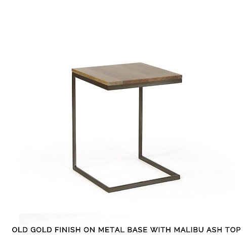 "Modulus ""C"" Table - Wide with Wood Top"