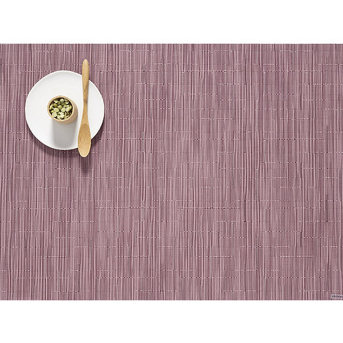 """Chilewich """"Bamboo"""" Placemat - in Rhubarb"""
