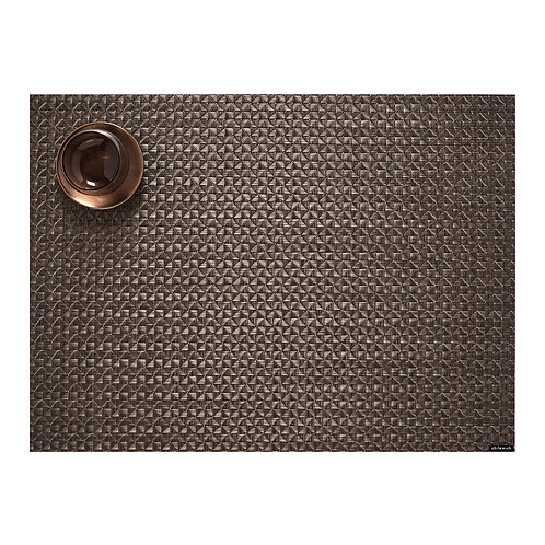 "Chilewich ""Origami"" Rectangular Placemat - Cocoa"