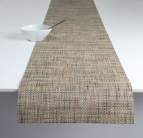 "Chilewich ""Basketweave"" Runner in Bark"