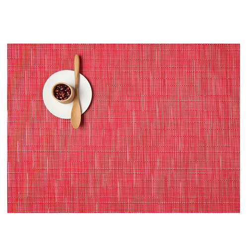 """Chilewich """"Bamboo"""" Placemat - in Poppy"""