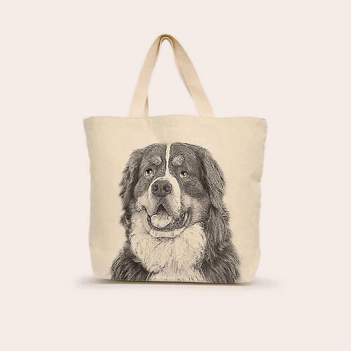 """Burmese Mountain Dog"" Tote"