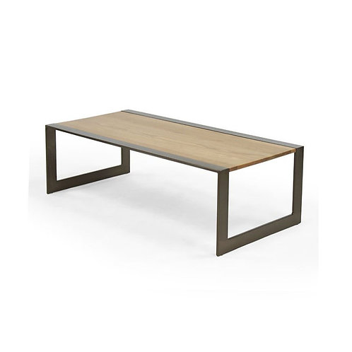Transit Cocktail Table, Wood Top - Large