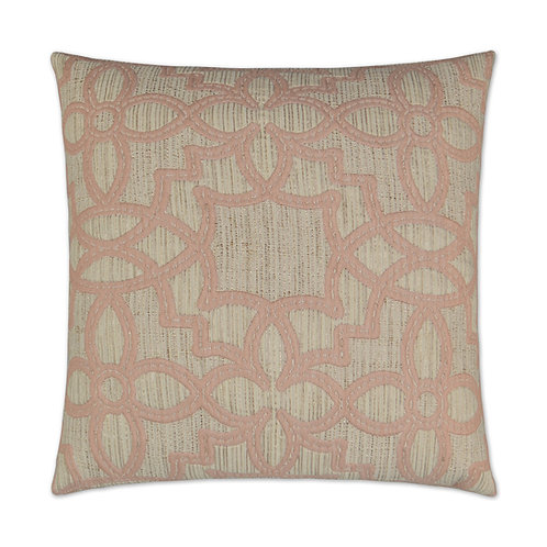 "Arabesque Blush 24"" Square"