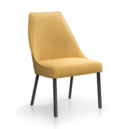 Sara I Plus Side Chair with Metal Legs