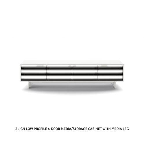 "Align 7473 81"" Low Profile Media + Storage Cabinet"