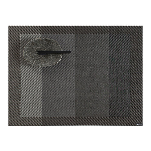 "Chilewich ""Color Tempo"" Rectangular Placemat in Slate"