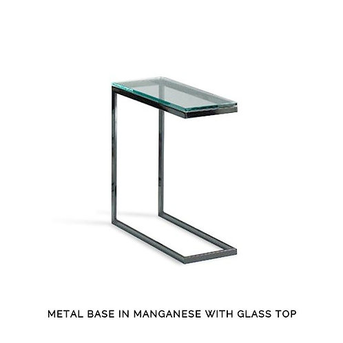 "Modulus ""C"" Table - Narrow with Glass Top"