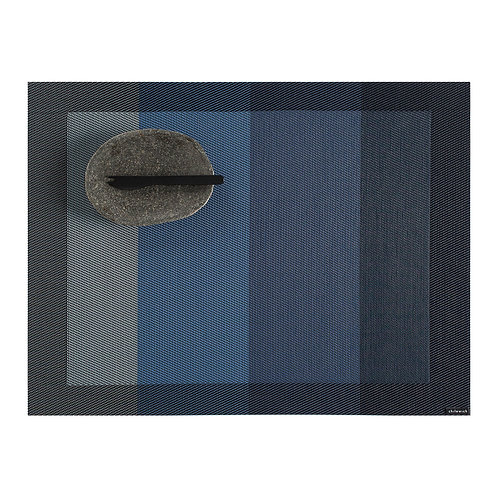 """Chilewich """"Color Tempo"""" Rectangular Placemat in Indigo"""