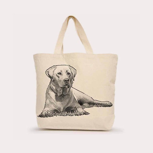 """Yellow Lab #1"" Tote"