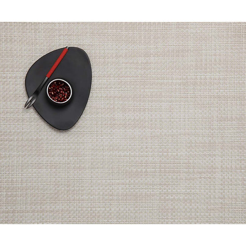 """Chilewich """"Basketweave"""" Placemat in Khaki"""