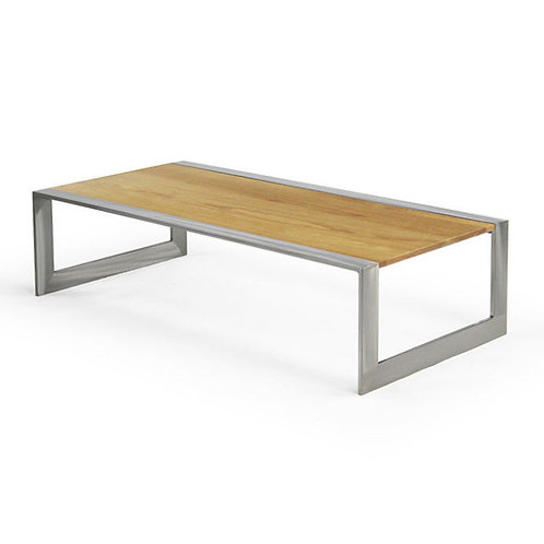 Transit Cocktail Table, Wood Top - Small