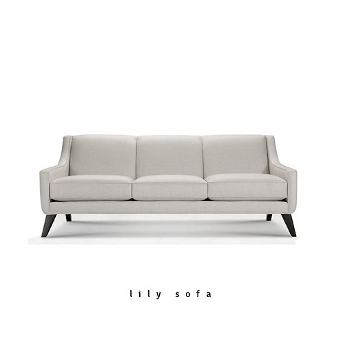Lily Sofa or Loveseat - Quick Ship