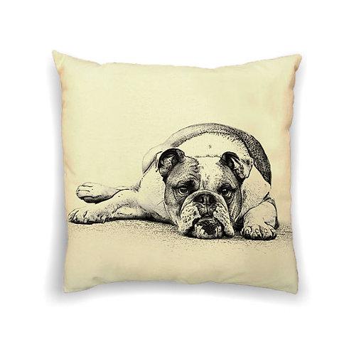 """""""Bulldog"""" Pillow"""