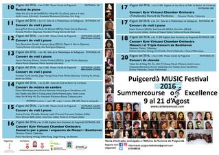 Puigcerdà MUSIC Festival 2016