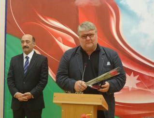 Dmitry Yablonsky:                       Honorary Artistic Personality of Azerbaijan