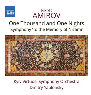 New Naxos CD with music by the Azerbaijani composer Fikret Amirov (1922-1984)
