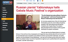 Oxana Yablonskaya Gabala