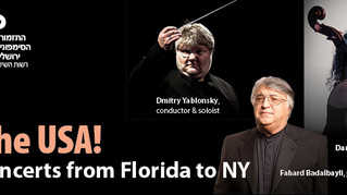 Yablonsky and the JSO in the USA tour