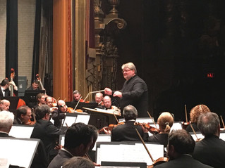 Successful concerts and great moments with the JSO in the US tour
