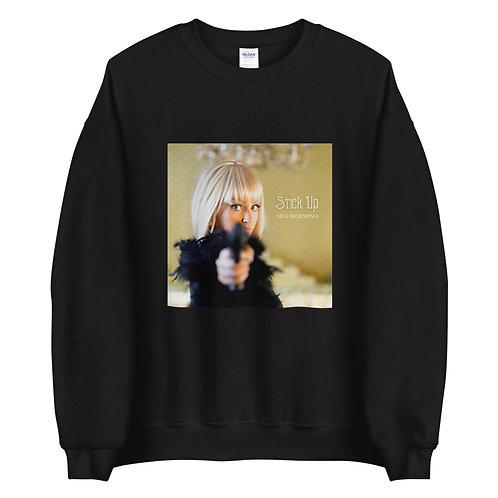 """Stick-Up""  Crewneck Sweatshirt (Dark colors)"