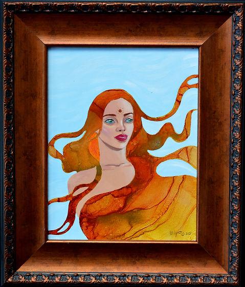 Aine (on' ya) - Celtic Goddess of the Su
