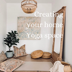 Creating your home Yoga space.png