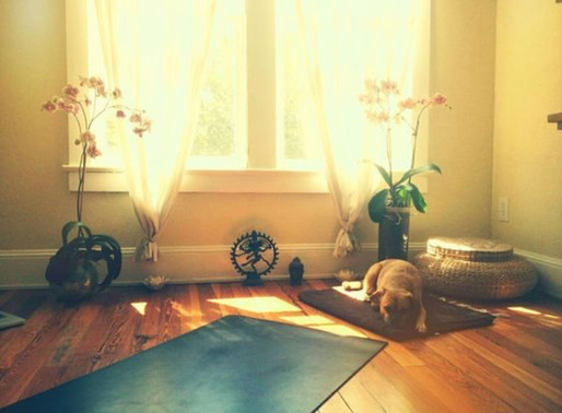 10 reasons why you'll love practising Yoga at home!