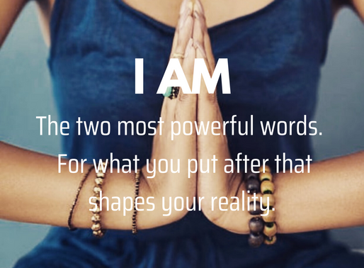 I AM ... ever noticed how you use these words? (free meditation inside)
