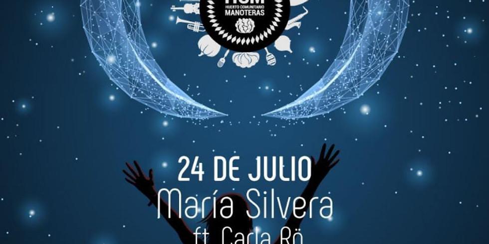 Noches del Huerto: María Silvera ft. Carla Rö (piano)