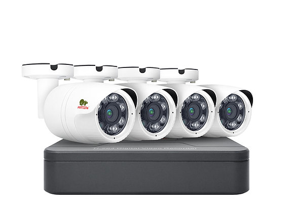 2.0MP Light (1080N) Outdoor set AHD-37 4xCAM + 1xDVR