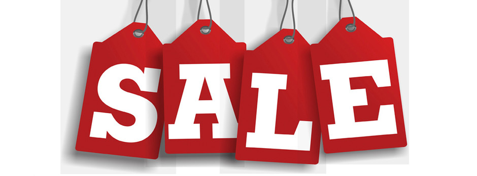 WE ARE HAVING A SALE!!
