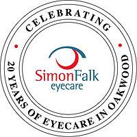20 years of eyecare Simon Falk Optometri