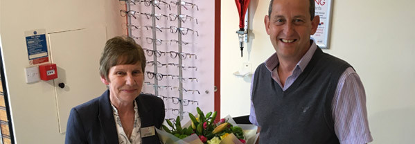 Congratulations Yvonne for being with Simon Falk Eyecare specialists in Leeds. Opticians Optometrists in Oakwood