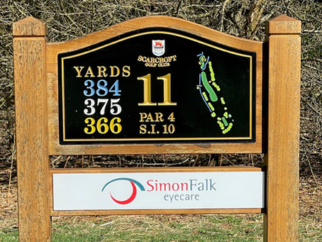 Proud sponsors of Scarcroft Golf Club