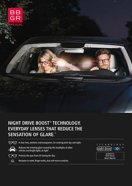 Night Drive Boost Opticians in Leeds Sim