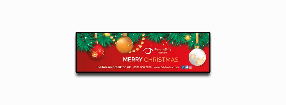 Simon Falk Opticians Christmas Opening times Festive Season