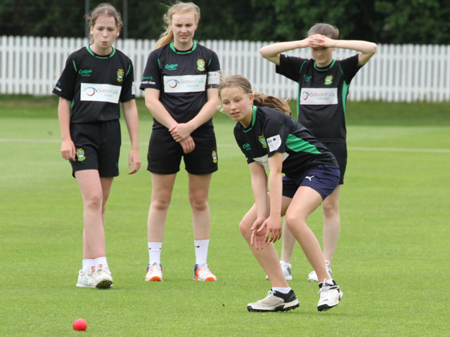 The Emeralds cricket club competed in the National Semis sponsored kits by Simon Falk Eyecare
