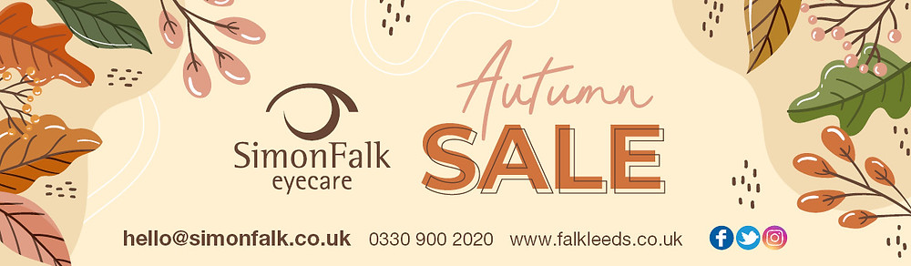 Simon Falk Eyecare Leeds Autumn Glass Sale Glasses Frames