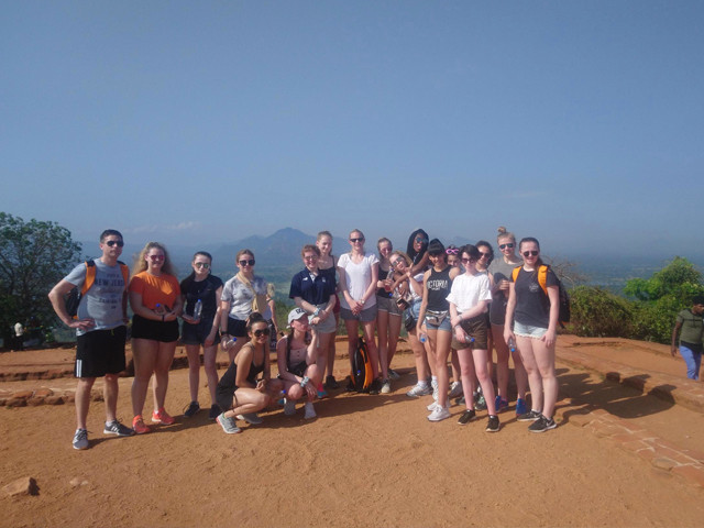 We were very proud to sponsor Gateway's School on their netball and hockey trip to Sri Lanka.  All the girls are wearing Rayban sunglasses supplied by ourselves and looking great in them.