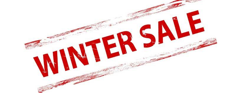 Winter Sale Starts Monday 26 November!