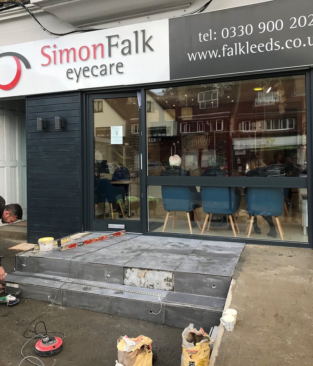 Simon Falk opticians in Leeds, open as usual optometrists
