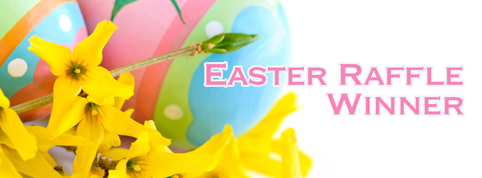 Easter raffle in aid of Yorkshire Cancer Research