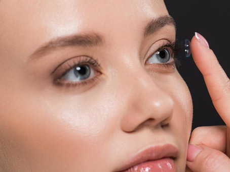 It's all about the Precision 1 Contact Lenses
